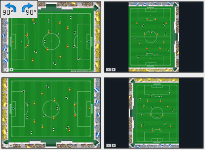 soccer software: easy Animation