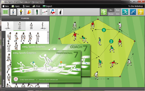 MAC/Windows: Soccer Software for perfect graphics - Soccer-Coaches com
